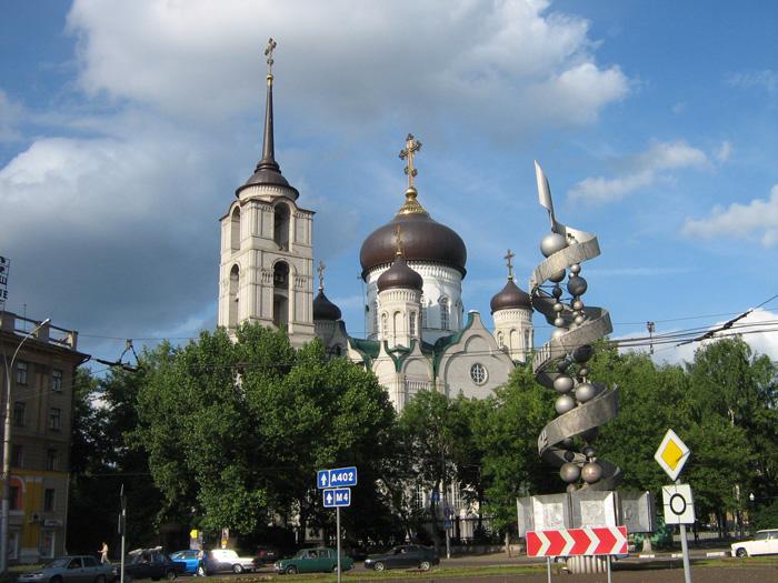 Воронеж. Собор Благовещения Пресвятой Богородицы
