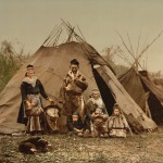Семья саами 1900