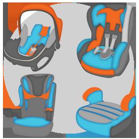 классификация детских кресел автомобильных направления окрашивания