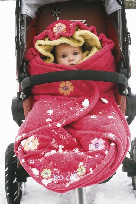 Как выбрать зимнюю одежду ребенку до года