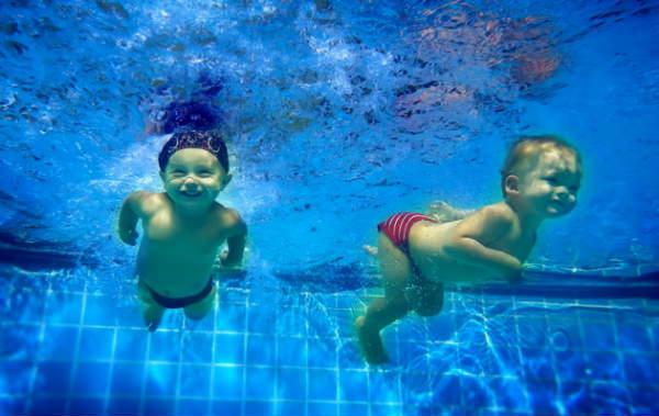 Плавание делает ребенка умнее