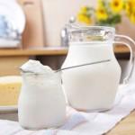Молоко и молочные продукты для детей