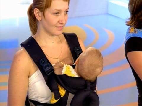 Приспособления для ношения детей и нагрузка на позвоночник