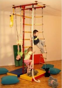 Как подобрать детский спортивный уголок для дома