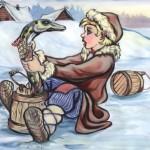 Емеля с щукой