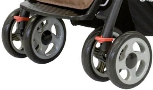 коляска в обязательном порядке должна обладать хорошей маневренностью