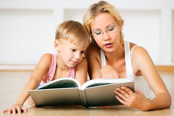 Совместное чтение с детьми-школьниками