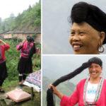 Мытье волос ферментированной рисовой водой