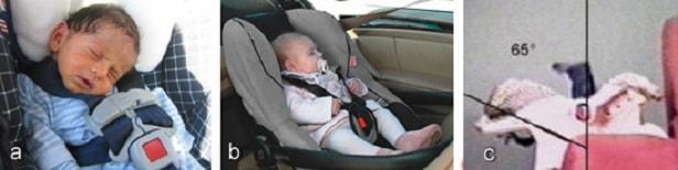 Угол наклона спинки сидения должен быть в пределах 30-35 градусов