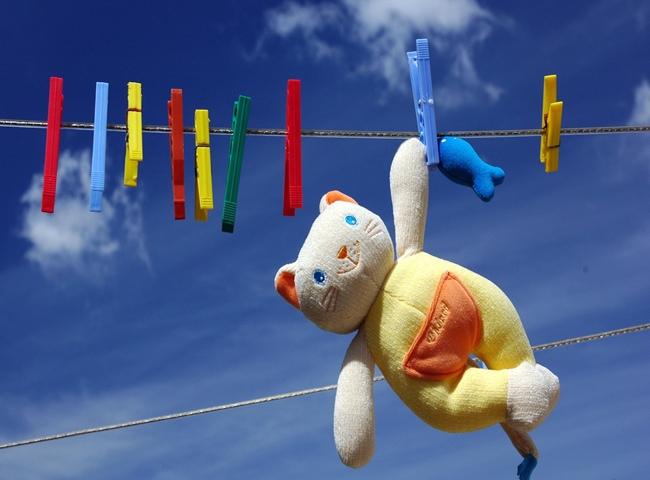 Как чистить мягкие игрушки
