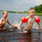 Правила безопасности детей на воде