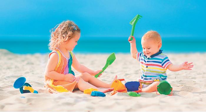 Игры на песке не просто забава