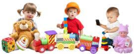 Детские игрушки - от кубиков до конструкторов