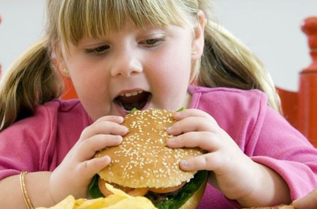 Уровень детского ожирения в стране неуклонно растет