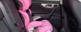 Где безопаснее ставить детское кресло в машине