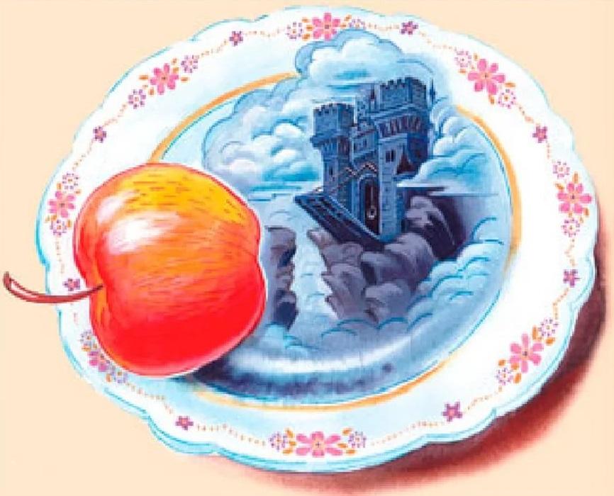 Серебряное блюдечко и наливное яблочко. Русская народная сказка