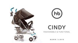 Детская прогулочная коляска Happy Baby Cindy