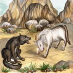 Глупый волк. Русская народная сказка