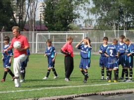 Чем полезен футбол для детей