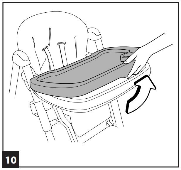 Инструкция к стульчику для кopмлeния Peg-Perego Prima Pappa Diner р-10