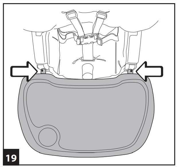 Инструкция к стульчику для кopмлeния Peg-Perego Prima Pappa Diner р-19