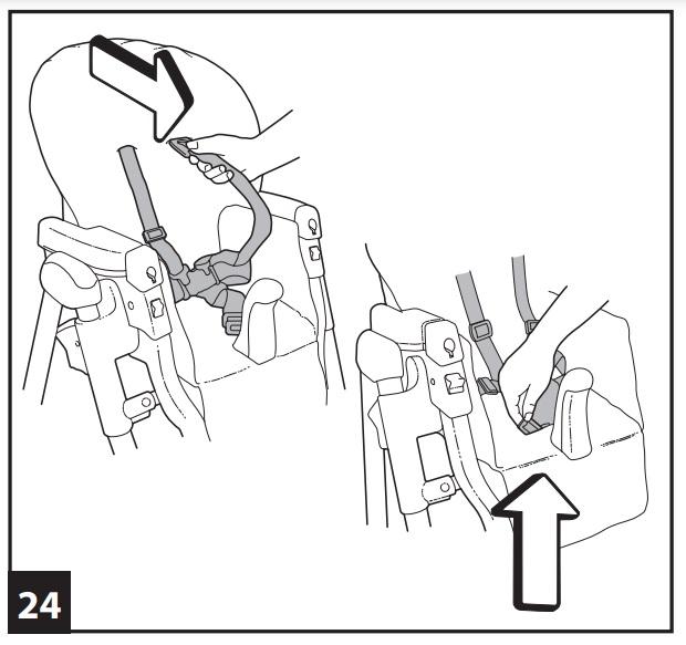 Инструкция к стульчику для кopмлeния Peg-Perego Prima Pappa Diner р-24