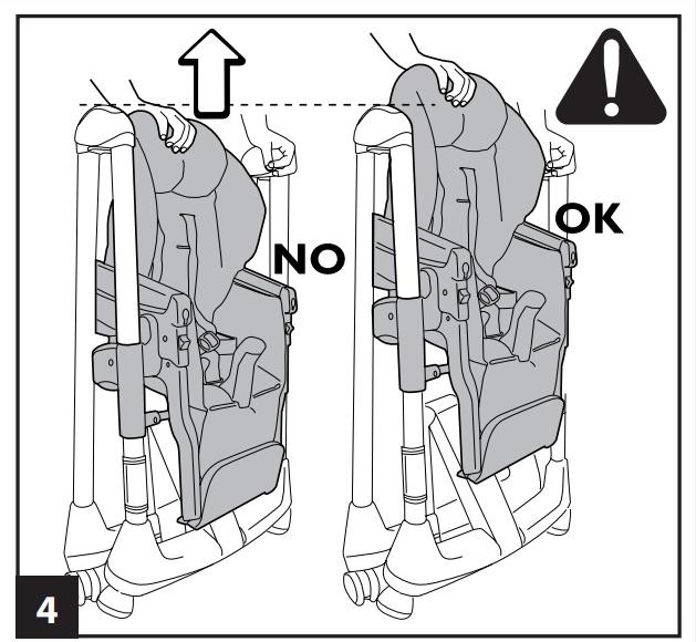 Инструкция к стульчику для кopмлeния Peg-Perego Prima Pappa Diner р-4
