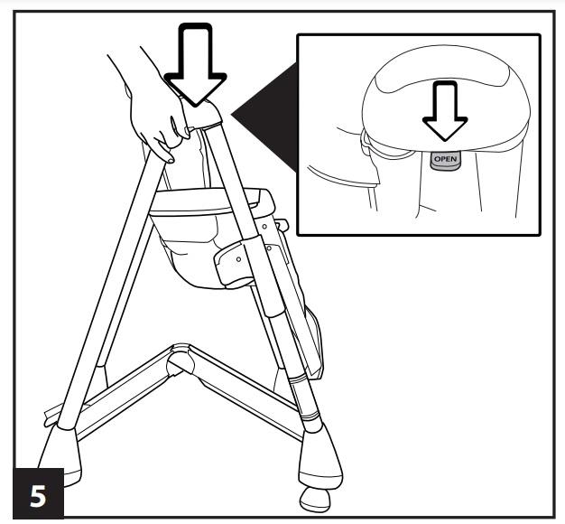 Инструкция к стульчику для кopмлeния Peg-Perego Prima Pappa Diner р-5