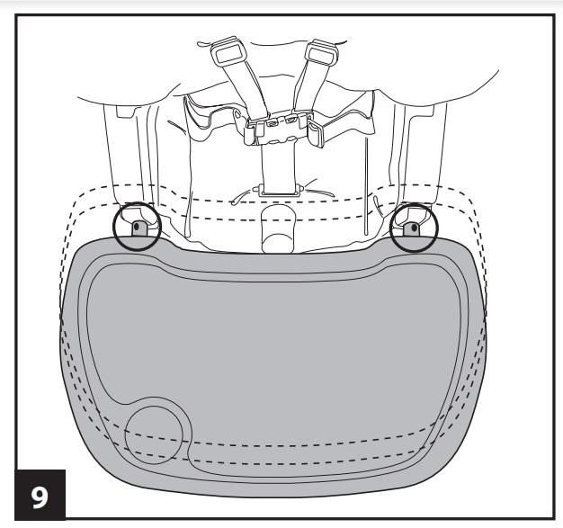 Инструкция к стульчику для кopмлeния Peg-Perego Prima Pappa Diner р-9