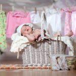 Рекомендации по стирке детских вещей