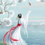 Журавлиные перья. Японская сказка