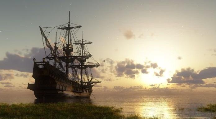 Он приказал капитану корабля дожидаться их месяц