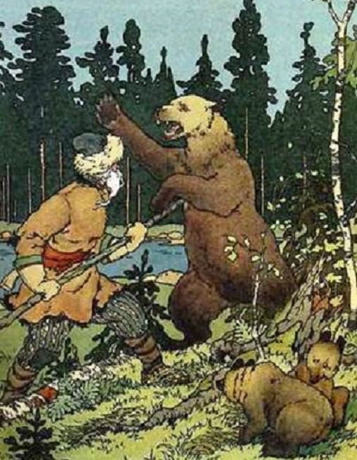 сказка о медведихе с картинками