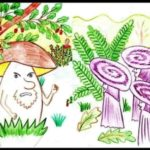 Война грибов. Русская народная сказка