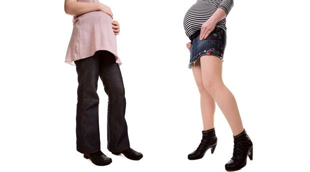 Каблуки и беременность
