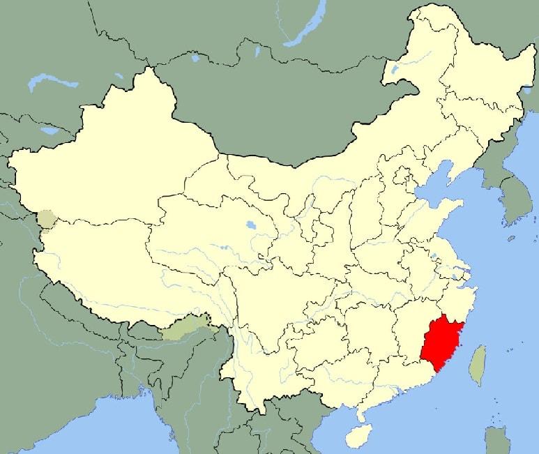 Китай.-Провинция-Фуцзянь