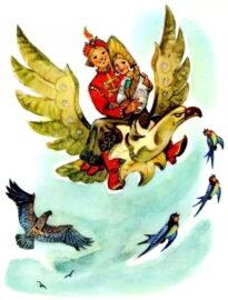 Деревянный орел. Русская народная сказка