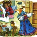 Медведь и лиса. Русская народная сказка