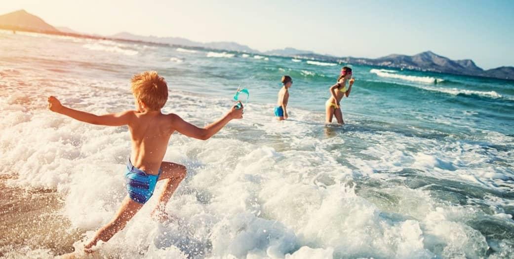 Море для здоровья ребенка