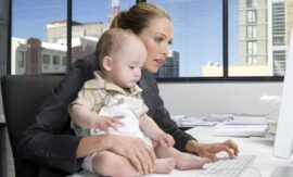 Рынок труда на стороне материнства