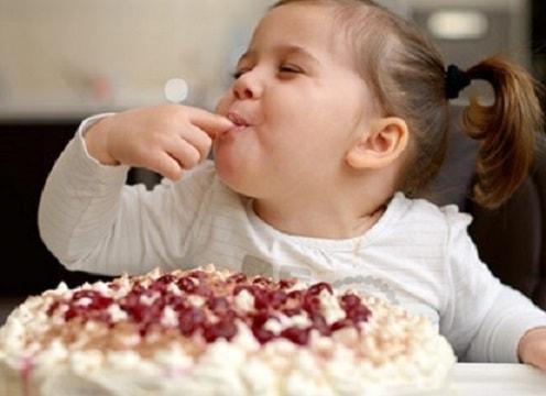сладости в рационе ребенка