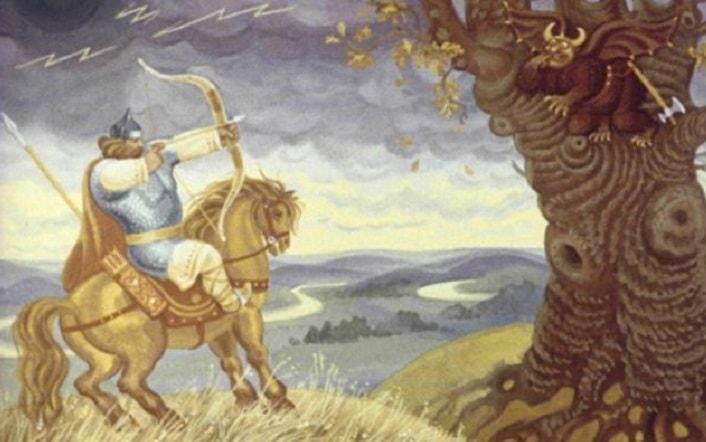 Илья-Муромец и Соловей-Разбойник