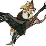 Как лиса училась летать. Русская народная сказка